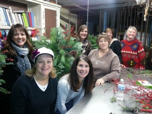 Christmas workshop bloomberryfloral