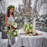 Wedding Flowers - Blizzard Photo Shoot