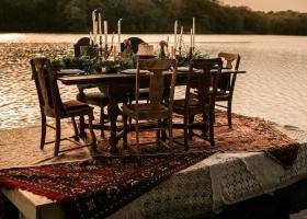 Floating Wedding Reception Table