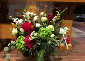 Funeral flowers by Keller Country Estates