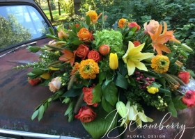 Summer Casket Spray by Bonnie Keller