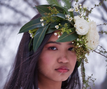 Floral Headpiece by Bloomberry Floral