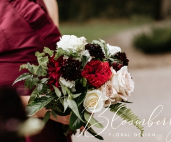 Wedding photos by Russell Heeter Phtography - Flowers by Bloomberry Floral