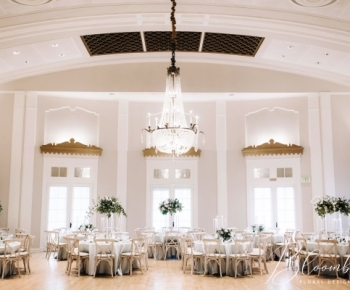 Lafayette Country Club Ballroom Wedding Reception
