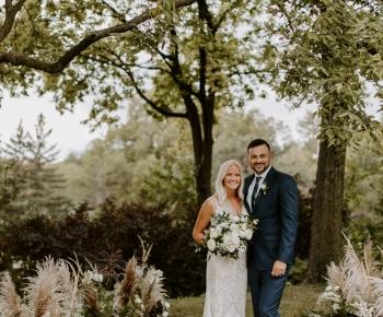 Intimate Wayzata Country Club Wedding Ceremony
