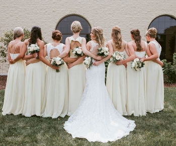 Bridal bouquets by Minneapolis Florist Bloomberry Floral