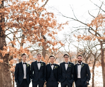 Winter wedding floral designs by Bloomberry Floral