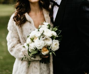 Bridal Bouquet Garden Style by Anne Monroe