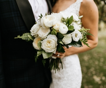 Wedding flowers by Minnesota Wedding Florist Bloomberry Floral