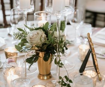 Simple Elegegant Table Centerpiece Wayzata Country Club