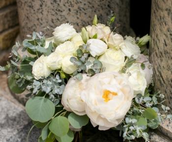 Ivory & Blush Bridal Bouquet - Lafayette Club