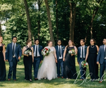 Bridal Party at Solar Arts in Minneapolis Minnesota