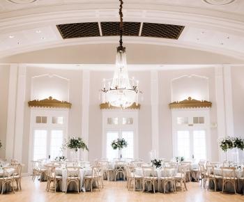 Lafayette Country Club Ballroom Wedding Reception