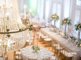 Grand Ballroom at Lafayette Country Club - FLorals by Bloomberry Floral