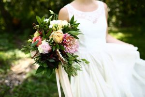 Bridal flowers by Bloomberry Floral